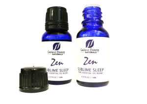 2 zen sublime sleep 1 bottle open